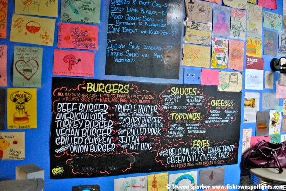 Sketch Burger Menu