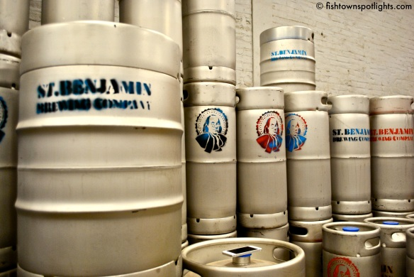 Saint Benjamin Brewing Kegs